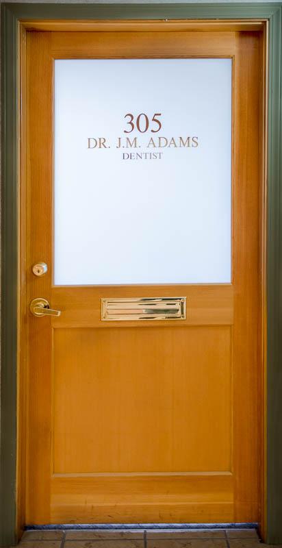 Dr. Adams Dental Office